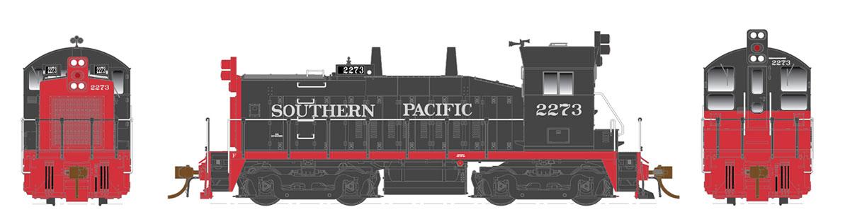 Rapido 27556 HO EMD SW1200 -DC/DCC/Sound - Southern Pacific #2281 - Pre-order