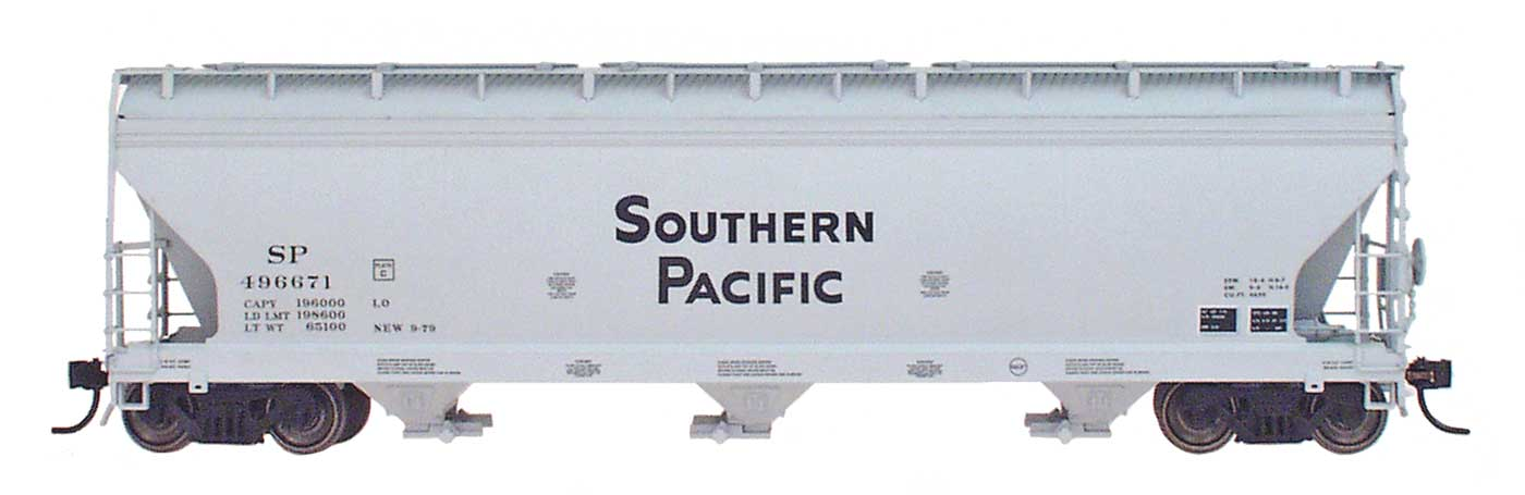 Intermountain 47003-19 HO RTR- ACF 4650 3-Bay Hopper - Southern Pacific #496517