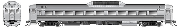 Rapido 16000C HO RDC-1 (Phase 11) – Painted, Unlettered - DCC Ready