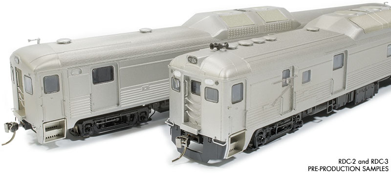Rapido 16500F HO RDC-2 (Phase 1b) – Painted, Unlettered - DCC & Sound