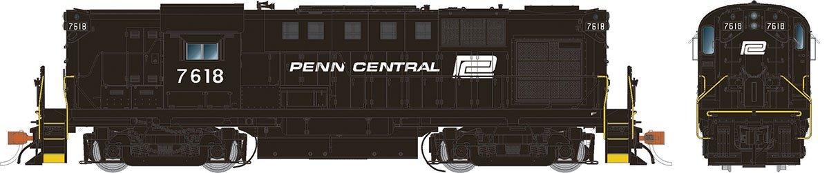 Rapido 31031 HO Alco RS-11 Penn Central (ex-PRR) 7618 DCC Ready - Taking Orders Now