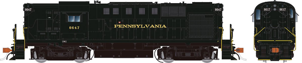 Rapido 31529 HO Alco RS-11 Pennsylvania RR 8652 DCC & Sound - Taking Orders Now