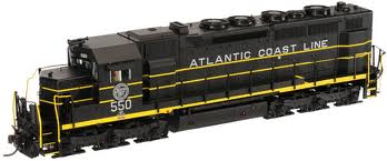 Atlas Model Railroad Master Gold Diesel EMD SDP35 - Sound & DCC Equipped Atlantic Coast Line #550