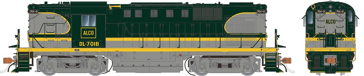 Rapido 31045 HO Alco RS-11 Alco Demonstrator Scheme DL-701B  DCC Ready - Taking Orders Now