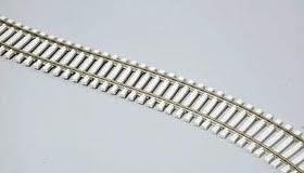 Atlas Model Railroad HO Scale Code 83 Flex-Track w/Modern Concrete Ties 25 pcs