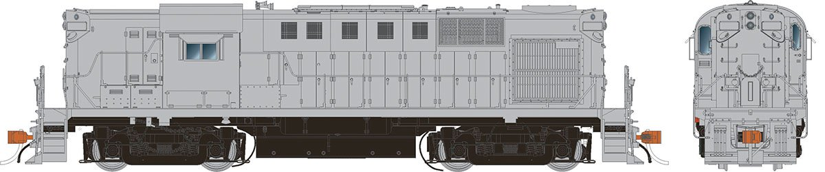Rapido 31046 HO Alco RS-11 Locomotive - Undecorated (LV version)  DCC Ready - Taking Orders Now