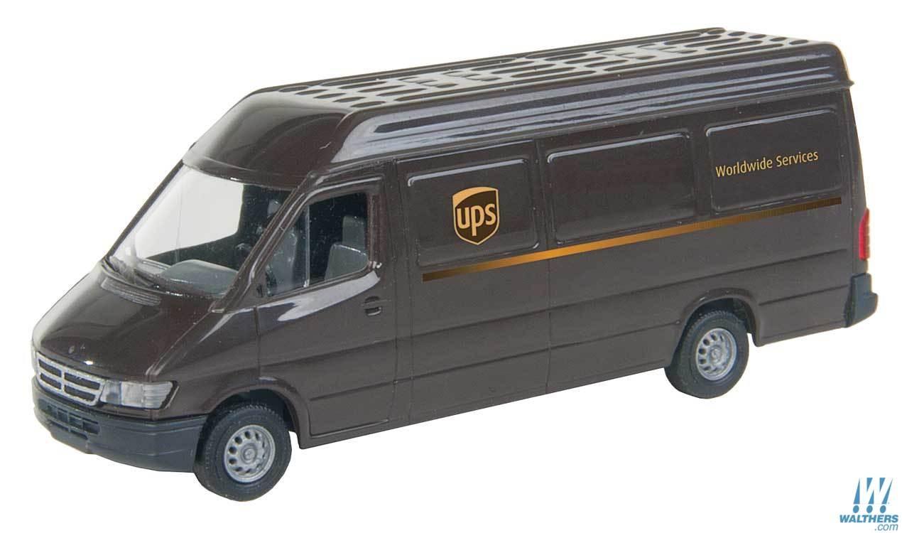 Walthers SceneMaster 12200 HO - UPS Delivery Van