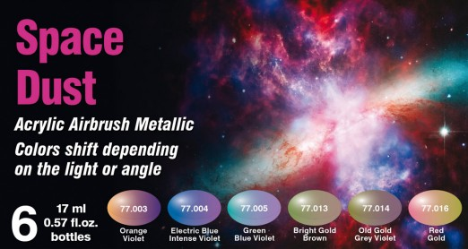 Vallejo 77091 - The Shifters Eccentric Color Series - Acrylic - Space Dust (6/pkg)