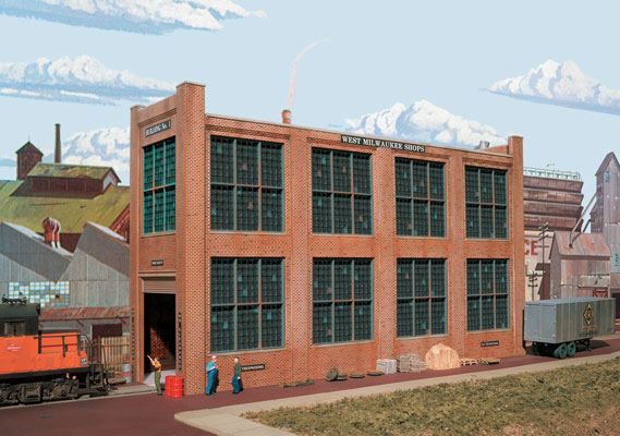 Walthers Cornerstone 3165 HO Scale Shop Building No 1