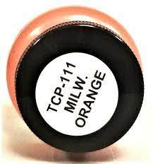 Tru Color Paint 111 - Acrylic - MILW Red Orange - 1oz