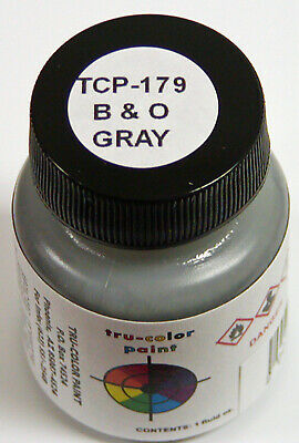 Tru Color Paint 179 - Acrylic - C&O/B&O Gray - 1oz