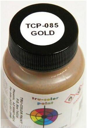 Tru Color Paint 085 - Acrylic - Gold - 1oz