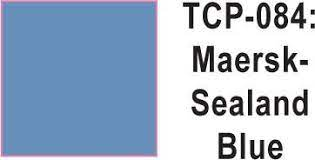 Tru Color Paint 084 - Acrylic - Maersk Sealand Blue- 1oz