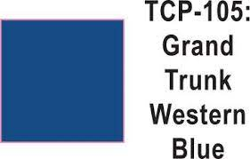Tru Color Paint 105 - Acrylic -GTW Blue 1oz