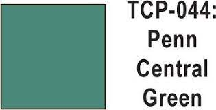 Tru Color Paint 044 - Acrylic -Penn Central Green 1 oz