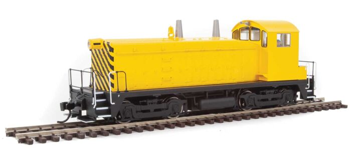 Walthers Mainline 20609 - HO EMD NW2 Phase V - DCC/Sound - Painted, Unlettered (yellow)