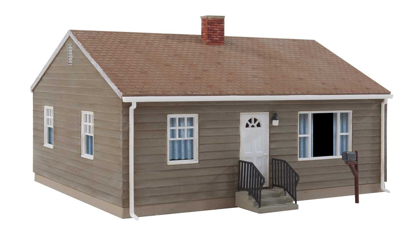 Walthers Cornerstone 4152 - HO Postwar Prefab House - Kit