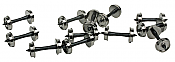 """WalthersProto 2301 HO 33"""" Wheelsets w/ Plastic Axles"""
