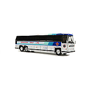Iconic Replica 87-0234 - 1:87 1984 MCI MC-9: Brewster Grayline