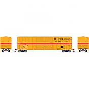 Athearn 27203 HO - 50ft FMC Centered Double Door Box - BC Hydro Railway #664 (#3)
