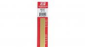 K&S Engineering 8241 All Scale - Brass Strip - 12inch x 1/2inch x .032inch