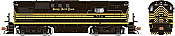 Rapido 31579 HO - Alco RS-11, 2nd Run - Diesel Locomotive - DCC & Sound - Nickel Plate Road #562