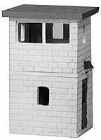 Stewart Products by Tomar HO 118 Two-Story Yard Tower Kit