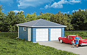Walthers 3793 HO Cornerstone - Two-Car Garage