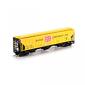 Athearn HO 72401 PS 4740 Covered Hopper, TLCX/Bunge #30573