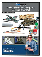 Kalmbach 15347 DVD Airbrushing Techniques: Getting Started