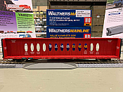 WalthersMainline 4822 HO - 72Ft Centerbeam Flatcar with Opera Windows - Ready to Run - British Columbia Railway (BCOL) #873737