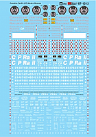 Microscale Decals 87-1513 HO Canadian Pacifc (CP) Modern Boxcars