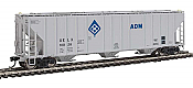Walthers Proto 106149 - HO 55Ft Evans 4780 Covered Hopper - ADM (UELX) #10028