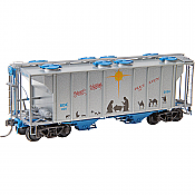 Kadee 6926 - HO RTR PS-2 - 2-Bay Hopper - 2020 Christmas KDC #026
