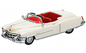 Schuco 452617605 HO 1953 Cadillac Eldorado White w/ Red Interior - Assembled
