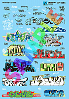 Microscale Decal Set - Graffiti