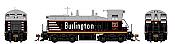 Rapido 27012 HO EMD SW1200 -DC/Silent - Chicago, Burlington, & Quincy #9285 - Pre-order