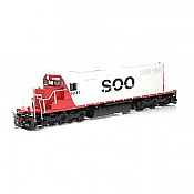Atlas 71487 - HO RTR SD39 - DCC Ready - SOO Line/Lake State #6241