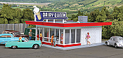Walthers 3484 HO Cornerstone Vintage Dairy Queen