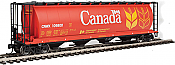 Walthers Mainline HO 7361 59 Ft Cylindrical Hopper CPWX #606542