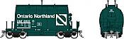 Rapido 143007-6 HO - Short Barrel Ore Hopper - ONR Progressive Green #6534