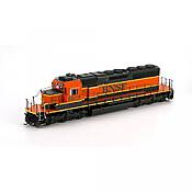 Athearn HO 98251 EMD SD40-2  w/Nose Light, BNSF/Heritage I #6875