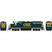 Athearn Roundhouse 12639 HO Scale - GP60, w/DCC Decoder - CSX #6897