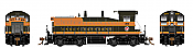 Rapido 27533 HO EMD SW1200 -DC/DCC/Sound - Great Northern #33 - Pre-order