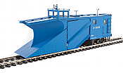 WalthersProto 110026 HO - Russell Snowplow - Ready to Run - Great Northern #X-1520 (Big Sky Blue)