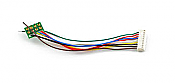 SoundTraxx 810135 9-Pin Jst to NMRA 8-Pin Wire Harness