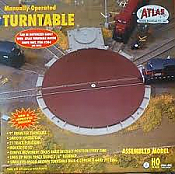 Atlas Model Railroad 305 HO 21-Stall Turntable