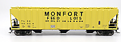 Intermountain 472212-03 HO Scale - 4785 PS2-CD Covered Hopper - Early End Frame - Monfort - Greeley, CO #35016