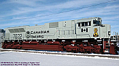 Athearn Genesis2 G75705 - HO SD70ACu - DCC Ready - Canadian Pacific Railway (Royal Canadian Navy Unit) #7022