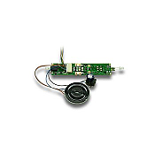 Digitrax SDH164K1A - HO 1 Amp Board Replacement Mobile/SoundFX/Function Decoder for Kato AC4400 Locos